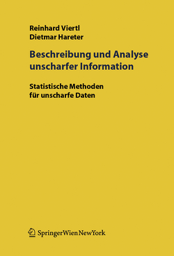 Beschreibung und Analyse unscharfer Information von Hareter,  D., Viertl,  R.K.W.