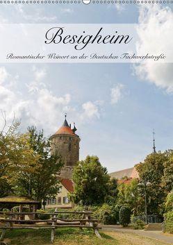 Besigheim – Romantischer Weinort an der Deutschen Fachwerkstraße (Wandkalender 2019 DIN A2 hoch)
