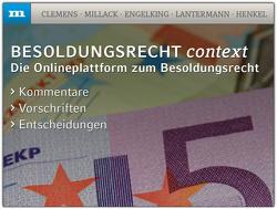 <p>Besoldungsrecht <em>context</em></p>