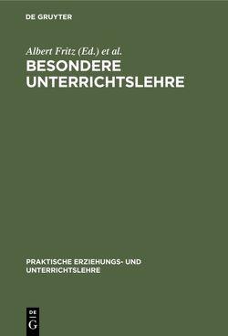 Besondere Unterrichtslehre von Boehm,  Karl, Fritz,  Albert