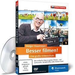 Besser filmen! von Haarmeyer,  Holger