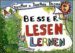 Besser lesen lernen von Thomé,  Dr. Dorothea, Thomé,  Prof. Dr. Günther