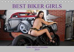 Best Biker Girls (Tischkalender 2019 DIN A5 quer) von Comandante,  Andreas