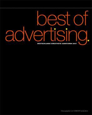 BEST OF ADVERTISING von HORIZONT productions im Deutschen Fachverlag,  Frankfurt am Main