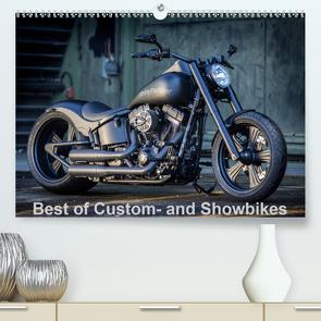 Best of Custom- and Showbikes Kalender (Premium, hochwertiger DIN A2 Wandkalender 2020, Kunstdruck in Hochglanz) von Wolf,  Volker