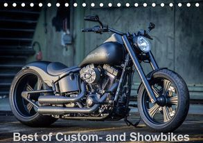 Best of Custom- and Showbikes Kalender (Tischkalender 2019 DIN A5 quer) von Wolf,  Volker