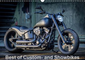 Best of Custom- and Showbikes Kalender (Wandkalender 2019 DIN A3 quer) von Wolf,  Volker