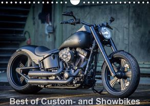 Best of Custom- and Showbikes Kalender (Wandkalender 2019 DIN A4 quer) von Wolf,  Volker