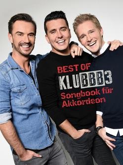 Best of Klubbb3 – Songbook für Akkordeon von Bosworth Edition