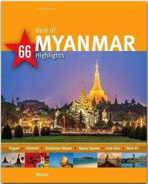 Best of Myanmar – 66 Highlights von Weigt,  Annett und Mario