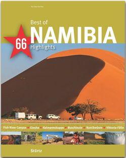 Best of Namibia – 66 Highlights von Küchler,  Kai Uwe