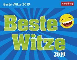 Beste Witze – Kalender 2019 von Anders,  Ulrike, Harenberg