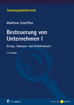 Besteuerung von Unternehmen I von Scheffler,  Wolfram