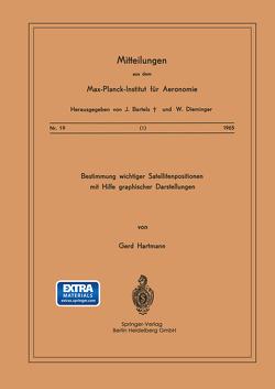Bestimmung Wichtiger Satellitenpositionen mit Hilfe Graphischer Darstellungen von Hartmann,  G.