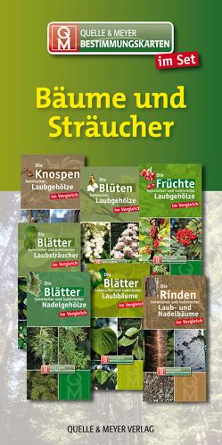 """Bestimmungskarten-Set """"Bäume und Sträucher"""" von Quelle & Meyer Verlag"""