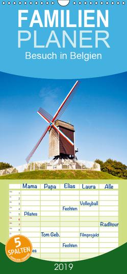 Besuch in Belgien – Familienplaner hoch (Wandkalender 2019 , 21 cm x 45 cm, hoch) von CALVENDO