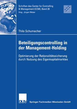 Beteiligungscontrolling in der Management-Holding von Schumacher,  Thilo