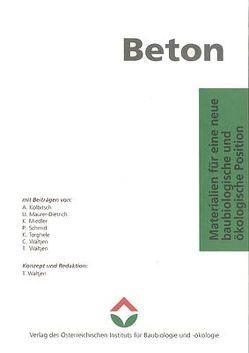 Beton von IBO – Österreichisches Institut für Baubiologie und -ökologie