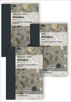 Betonbau. Band 1 – 3. von Eifert,  Helmut, Jablinski,  Manfred, Röhling,  Stefan