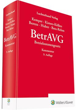 BetrAVG – Kommentar von Kemper,  Kurt