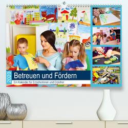 Betreuen und Fördern. Ein Kalender für Erzieherinnen und Erzieher (Premium, hochwertiger DIN A2 Wandkalender 2020, Kunstdruck in Hochglanz) von Lehmann (Hrsg.),  Steffani
