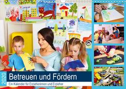 Betreuen und Fördern. Ein Kalender für Erzieherinnen und Erzieher (Wandkalender 2020 DIN A3 quer) von Lehmann (Hrsg.),  Steffani