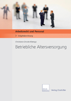 Betriebliche Altersversorgung von Droste-Klempp,  Christiane