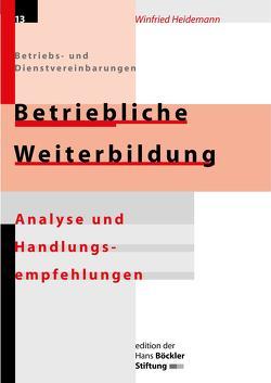 Betriebliche Weiterbildung von Heidemann,  Winfried