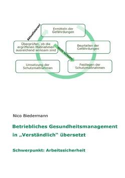 """Betriebliches Gesundheitsmanagement in """"Verständlich"""" übersetzt von Biedermann,  Nico"""