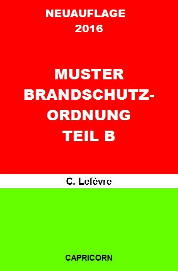 betriebliches notfallmanagement muster brandschutzordnung b din 14096 von lefvre wolf d - Brandschutzordnung Muster