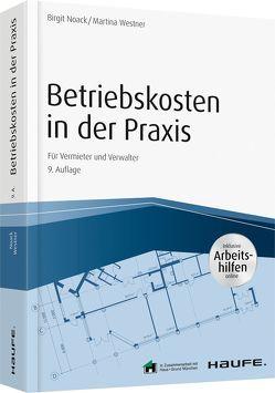 Betriebskosten in der Praxis – inkl. Arbeitshilfen online von Noack,  Birgit, Westner,  Martina
