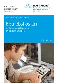 Betriebskosten von Brückner,  Carsten, Warnecke,  Kai H.