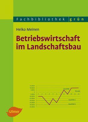 Betriebswirtschaft im Landschaftsbau von Meinen,  Prof. Dr. Heiko