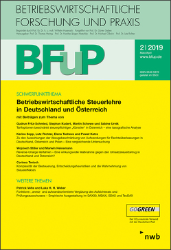 Betriebswirtschaftliche Steuerlehre in Deutschland und Österreich