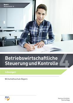 Betriebswirtschaftliche Steuerung und Kontrolle von Umhöfer,  Hartmut, Yvonne,  Kopp