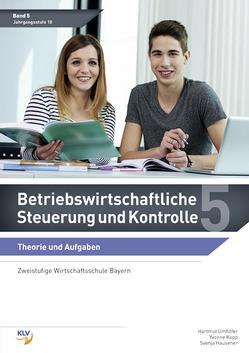 Betriebswirtschaftliche Steuerung und Kontrolle von Kopp,  Yvonne, Umhöfer,  Hartmut