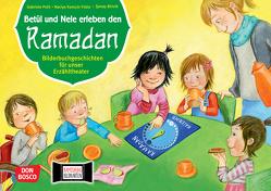 Betül und Nele erleben den Ramadan. Kamishibai Bildkartenset. von Biricik,  Senay, Kamcili-Yildiz,  Naciye, Pohl,  Gabriele