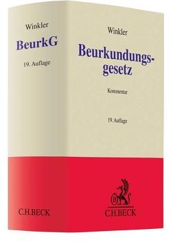 Beurkundungsgesetz von Winkler,  Karl