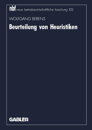 Beurteilung von Heuristiken von Berens,  Wolfgang
