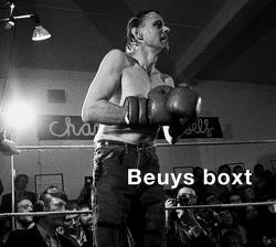 Beuys boxt von Lusznat,  Hans Albrecht