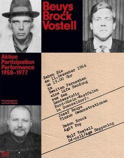 Beuys Brock Vostell von Weibel,  Peter