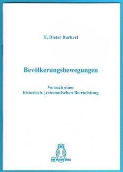Bevölkerungsbewegungen von Burkert,  Dieter