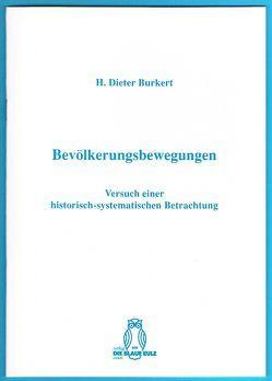Bevölkerungsbewegungen von Burkert,  H. Dieter