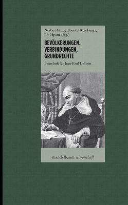 Bevölkerungen, Verbindungen, Grundrechte von Franz,  Norbert, Kolnberger,  Thomas, Péporté,  Pit