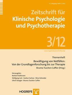 Bewältigung von Notfällen: Von der Grundlagenforschung bis zur Therapie von Tuschen-Caffier,  Brunna