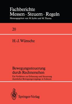 Bewegungssteuerung durch Rechnersehen von Wünsche,  Hans-Joachim