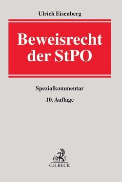 Beweisrecht der StPO von Eisenberg,  Ulrich