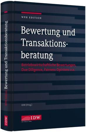 Bewertung und Transaktionsberatung von Institut der Wirtschaftsprüfer