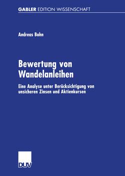 Bewertung von Wandelanleihen von Böhn,  Andreas