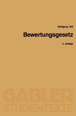 Bewertungsgesetz von Teß,  Wolfgang